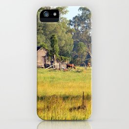 Life on the Land iPhone Case