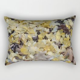 ginkgo gold Rectangular Pillow