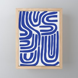 S and U Framed Mini Art Print