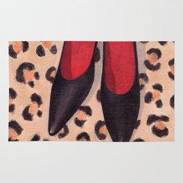 Black Heels Rug