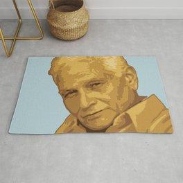 Jacques Derrida Rug