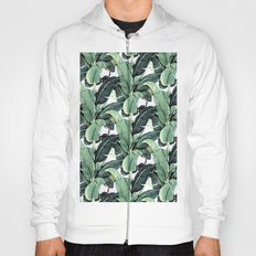 Tropical Banana Leaf Hoody