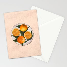 A Plate of Oranges Stationery Cards