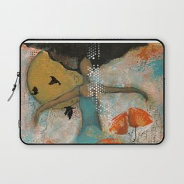 Floating. African American Art, Black Art, Women, Girls, Female Laptop Sleeve