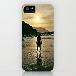 Suntet at the beach iPhone Case