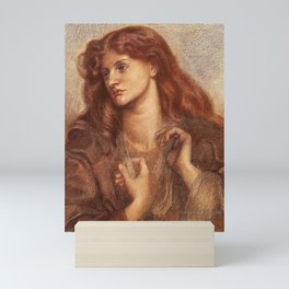 Alexa Wilding Pre Raphaelite Brotherhood Dante Gabriel Rossetti Mini Art Print
