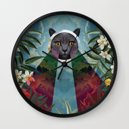 Chartreux Wall Clock