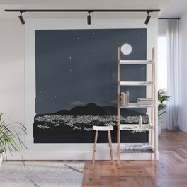 Caracas City at Night by Friztin Wall Mural