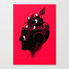Everyday is a New Soundtrack Canvas Print