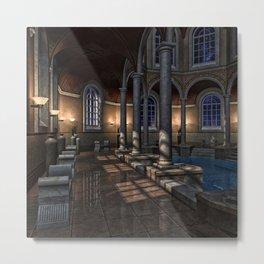 Poolside 2 Metal Print