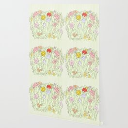 Blooms Wallpaper
