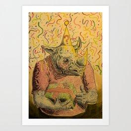 Valeu! Art Print