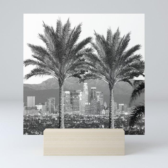 LA Palms Mini Art Print