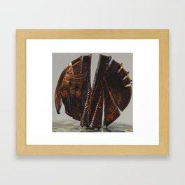 Beheaded Eagle (From Tax Brackets series) Framed Art Print
