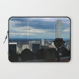 Top of the Rock View over Manhattan Laptop Sleeve