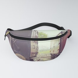 Vintage Railway Carriages Fanny Pack