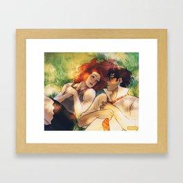 I love you, Lily Evans Framed Art Print