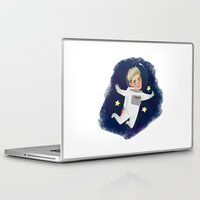 niall Laptop & iPad Skins featuring Space Niall by Ashley R. Guillory