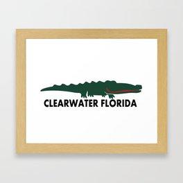 Clearwater Beach. Framed Art Print
