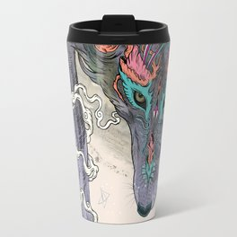 Journeying Spirit (wolf) Travel Mug