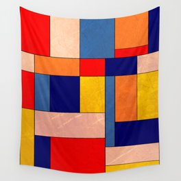 Abstract #340 Wall Tapestry