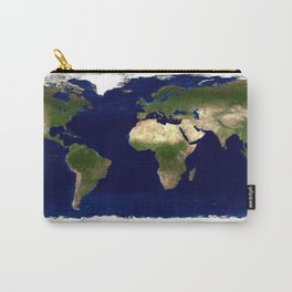 Earth's map Carry-All Pouch