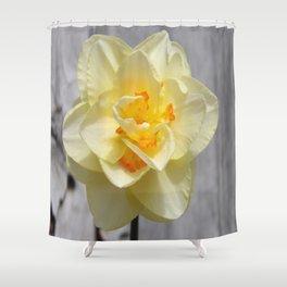 Layered Daffodil Shower Curtain
