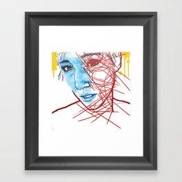Lifting A Fearful Eye Framed Art Print