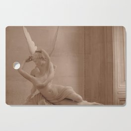Psyche Revived by Cupid's Kiss Cutting Board