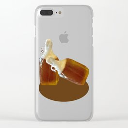 Beer Growler Clear iPhone Case