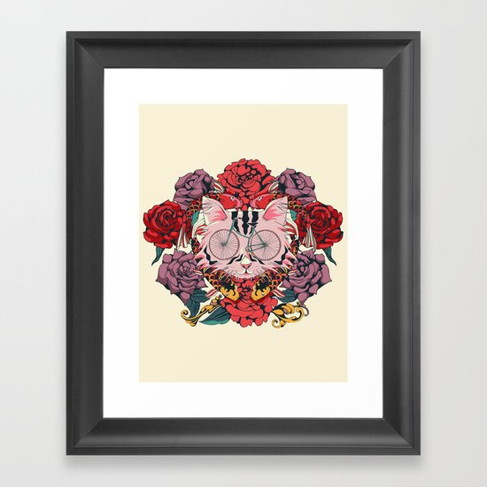 I Couldn't Be Your Friend Framed Art Print