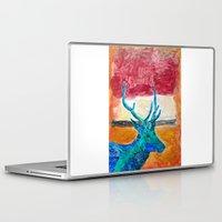 rothko Laptop & iPad Skins featuring Deer Rothko by winterkl