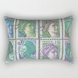 Suzette's Postman Rectangular Pillow