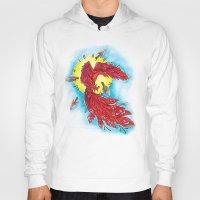 phoenix Hoodies featuring Phoenix by missfortunetattoo