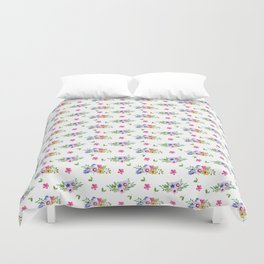 Tiny Flowers Ditsy Floral Duvet Cover