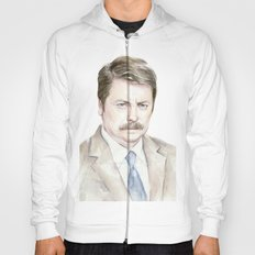 Swanson Watercolor Ron Hoody