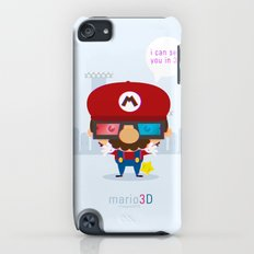 mario 3d iPod touch Slim Case