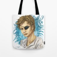 pen Tote Bags featuring Pen by laya rose