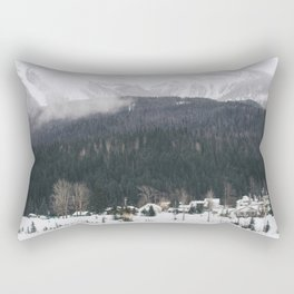 Alpine Village Rectangular Pillow