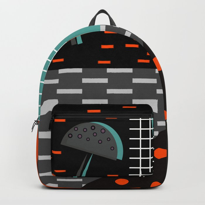 Dark autumn decor Backpack
