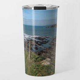 Burgh Island & Bantham Beach Travel Mug