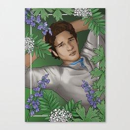 """""""Nature Wolf,"""" Scott McCall - Teen Wolf Canvas Print"""