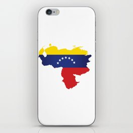 Venezuela - venezuelan heart - flag design iPhone Skin