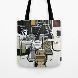 Boats in Folkestone Harbour Kent England Tote Bag