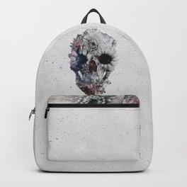 Floral Skull 2 Backpack