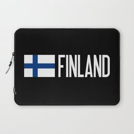 Finland: Finnish Flag & Finland Laptop Sleeve