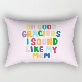Good Gracious Rectangular Pillow