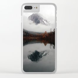 Sichuan Mountains China Clear iPhone Case