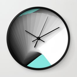 Flying Cards Wall Clock