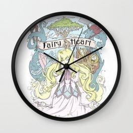 Mavis - The Fairy Heart Wall Clock